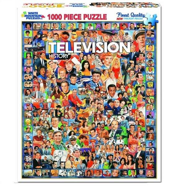 1000 Piece Television History Puzzle