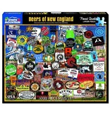 White MTN Puzzles 1000 Piece Beers Of New England Puzzle