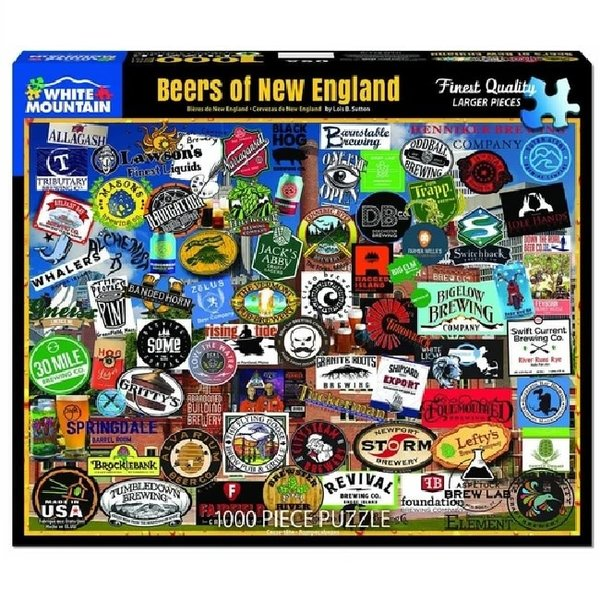 1000 Piece Beers Of New England Puzzle
