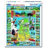 White MTN Puzzles 1000 Piece Best Of New Hampshire Puzzle
