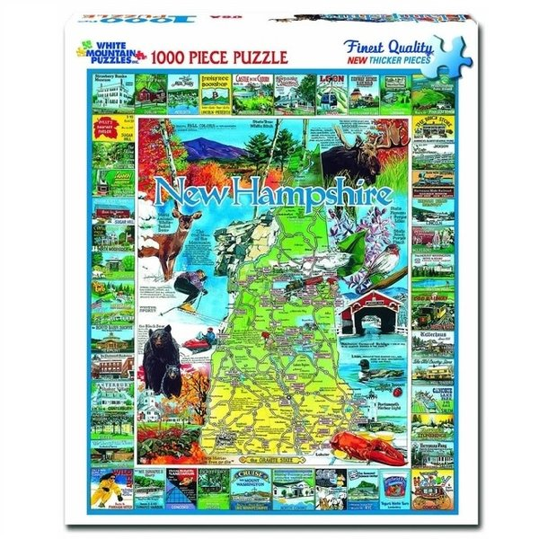 1000 Piece Best Of New Hampshire Puzzle