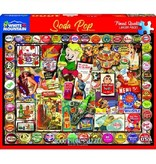 White MTN Puzzles 1000 Piece Soda Pop Puzzle