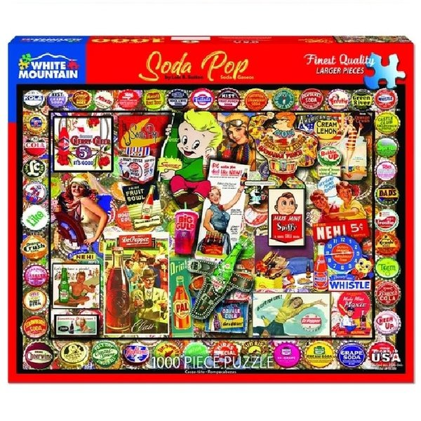 1000 Piece Soda Pop Puzzle