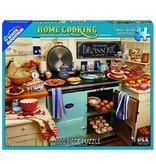 White MTN Puzzles 1000 Piece Home Cooking Puzzle