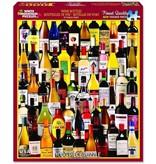 White MTN Puzzles 1000 Piece Wine Bottles Puzzle