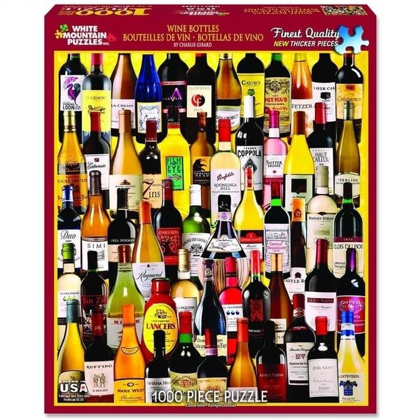 1000 Piece Wine Bottles Puzzle