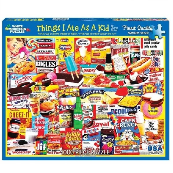 1000 Piece Things I Ate As A Kid puzzle