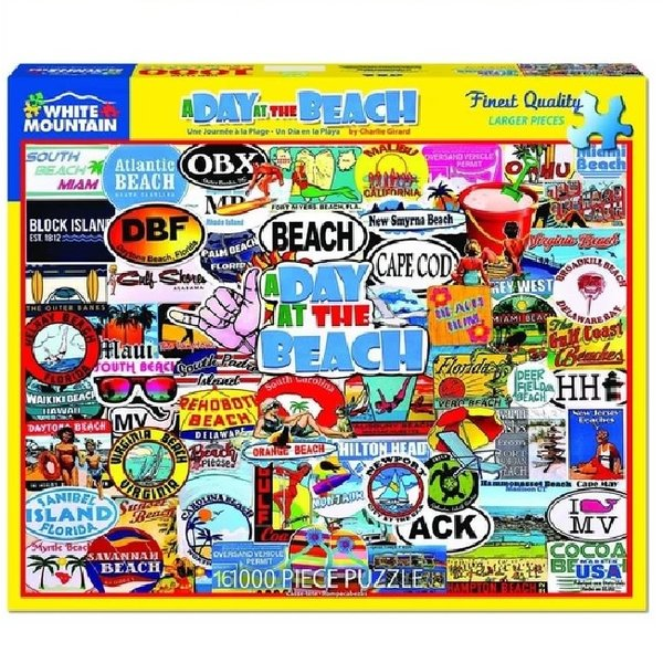 1000 Piece A Day At The Beach Puzzle