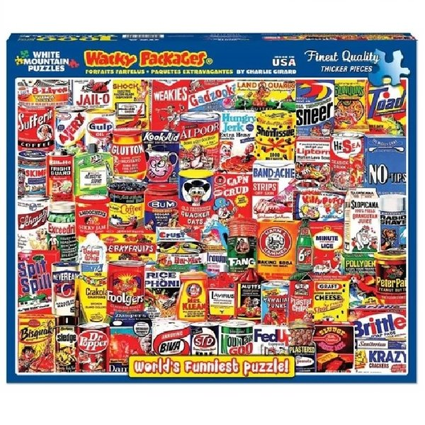1000 Piece Wacky Packages Puzzle