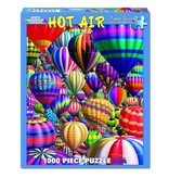 White MTN Puzzles 1000 Piece Hot Air Balloon Puzzle