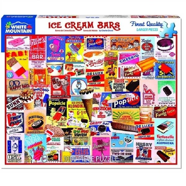 1000 Piece Ice Cream Bar Puzzle
