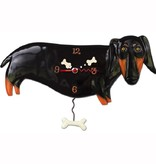 Allen Designs Otis The Dachshund Clock