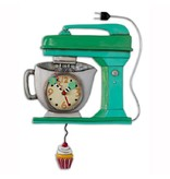 Allen Designs Vintage Green Mixer Clock