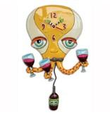 Allen Designs Octopus Wine Clock