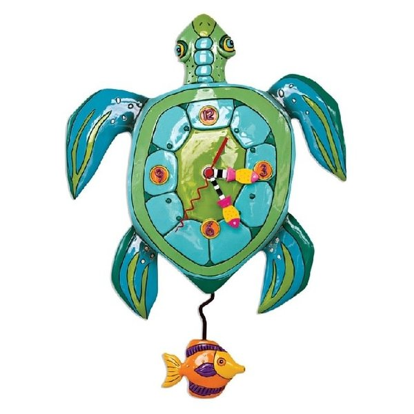 Sup Dude Turtle Clock