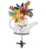 Allen Designs Blossoms Clock