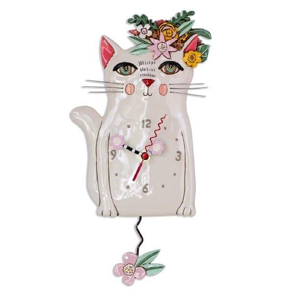 Pretty Kitty Clock