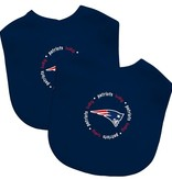 New England Patriots Bibs Set of 2