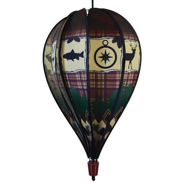 Rustic Lodge Balloon Spinner