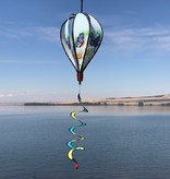 Blue Butterfly Balloon Spinner