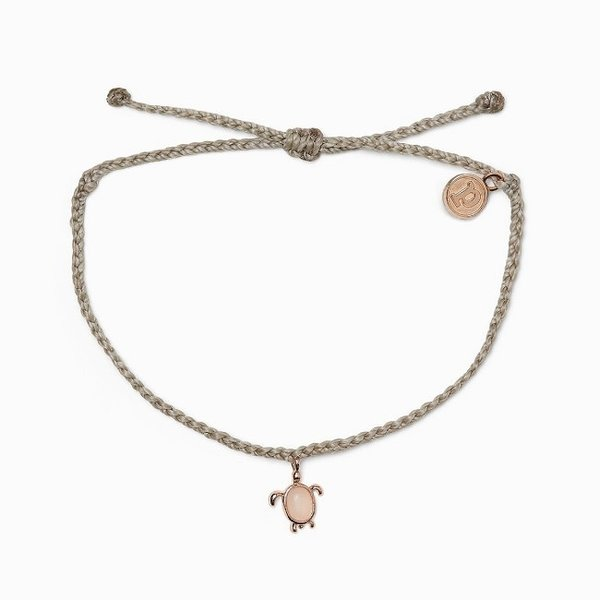 Pura Vida Rose Gold Sea Turtle Bracelet