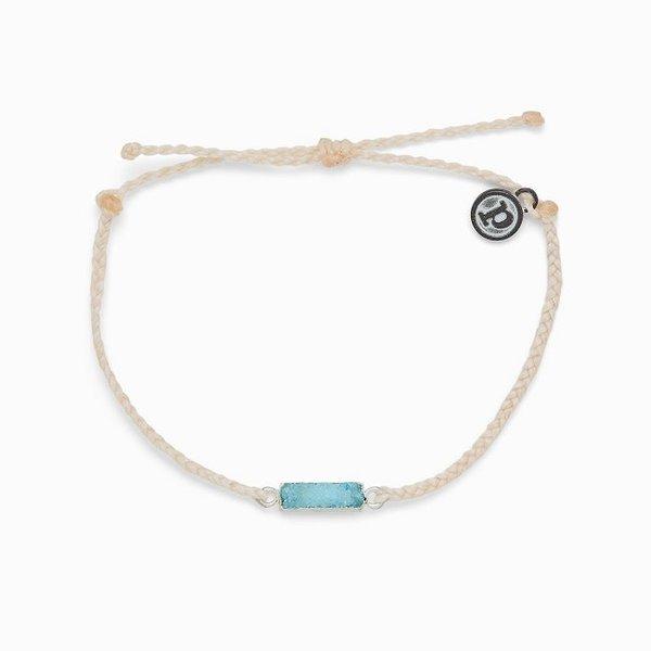 Pura Vida Druzy Vanilla Bracelet