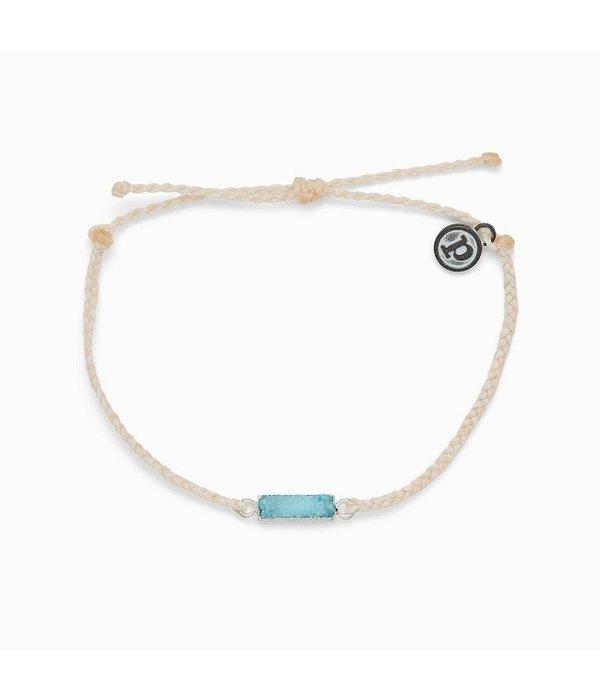 Pura Vida Pura Vida Druzy Vanilla Bracelet