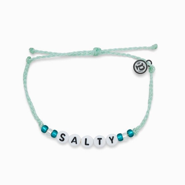 Pura Vida Salty Alphabet Bracelet