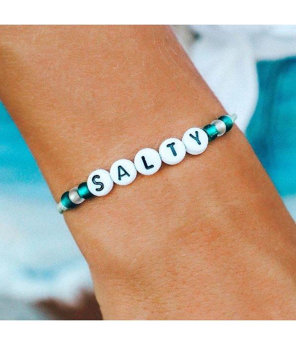 Pura Vida Pura Vida Salty Alphabet Bracelet