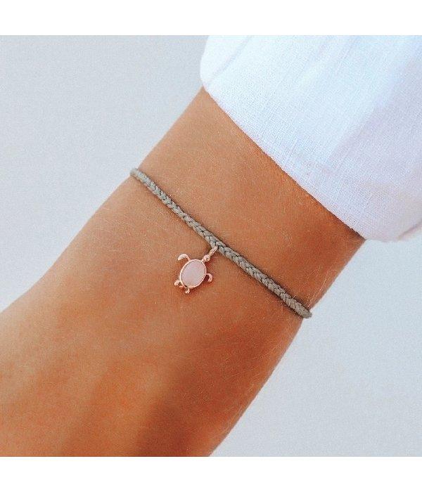 Pura Vida Pura Vida Rose Gold Sea Turtle Bracelet