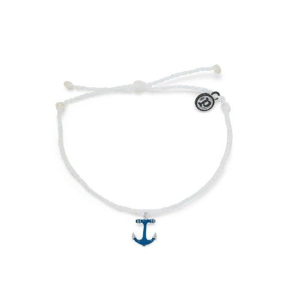 Pura Vida Blue Anchor Bracelet