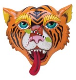 Allen Designs Tiger Tats Clock