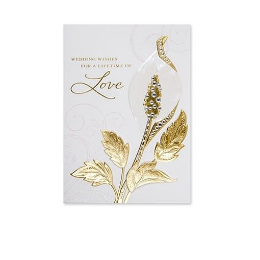 Papyrus Papyrus Wedding Card Wedding Wishes For A Lifetime