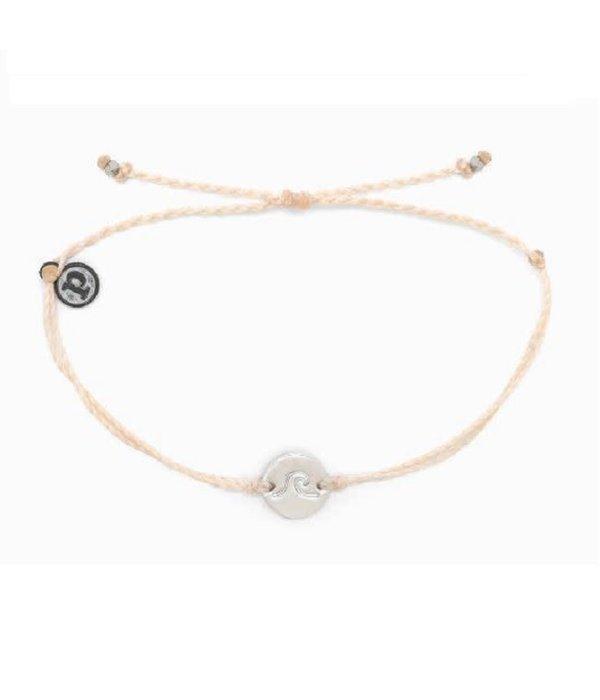 Pura Vida Pura Vida Wave Coin Vanilla Bracelet