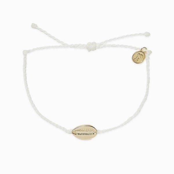 Pura Vida Cowrie White Bracelet