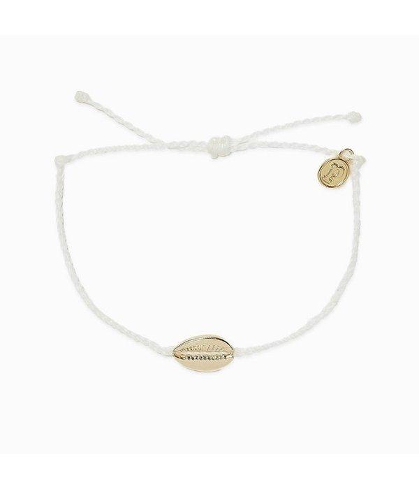 Pura Vida Pura Vida Cowrie White Bracelet
