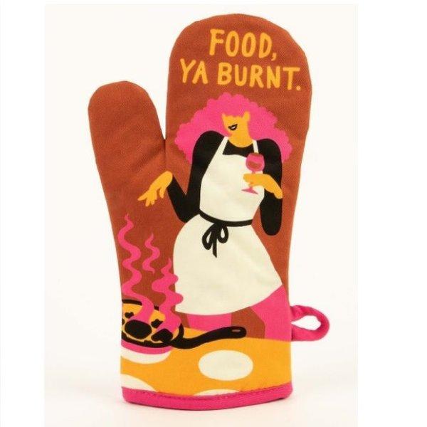 Food Ya Burnt Oven Mitt