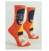 Blue Q Bitchy Button Women's Socks
