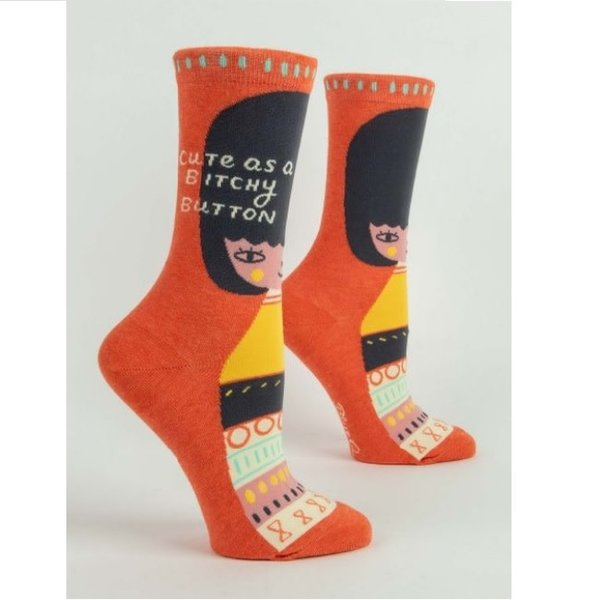 Bitchy Button Women's Socks
