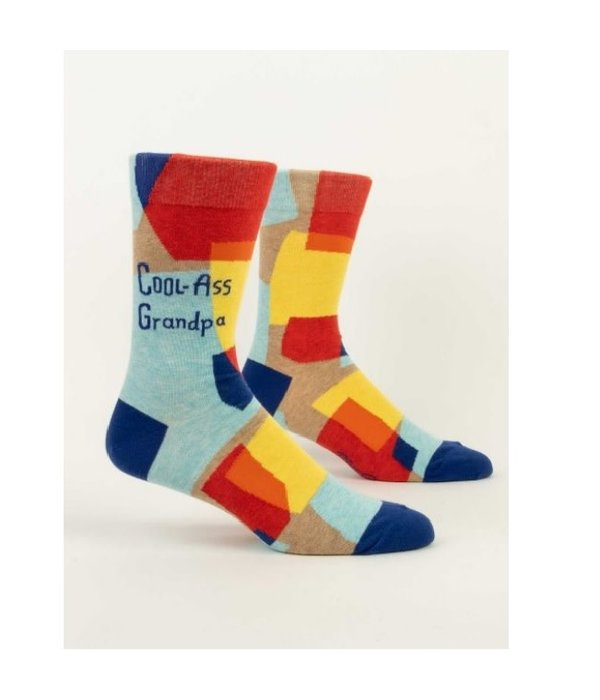 Blue Q Cool Ass Grandpa Men's Socks