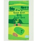 Blue Q Big Golf Guy Dish Towel