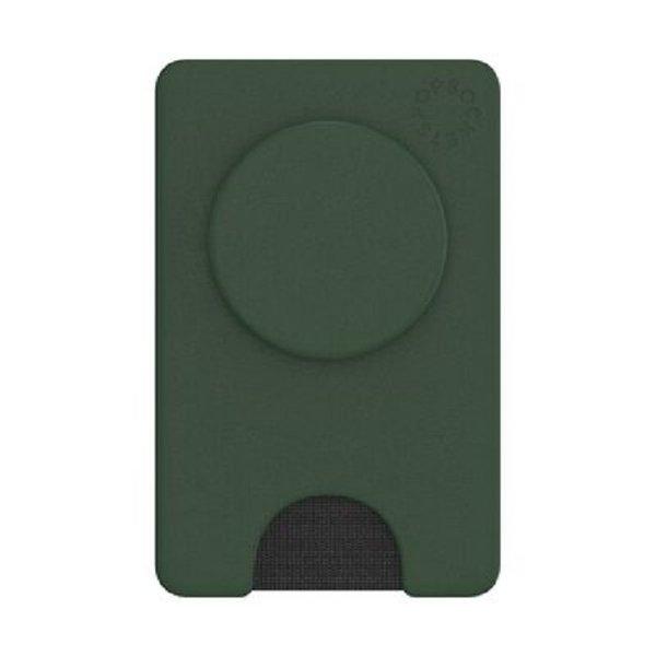 Moss Green Pop Wallet
