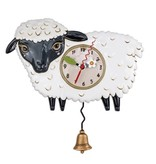 Allen Designs Black Sheep Clock