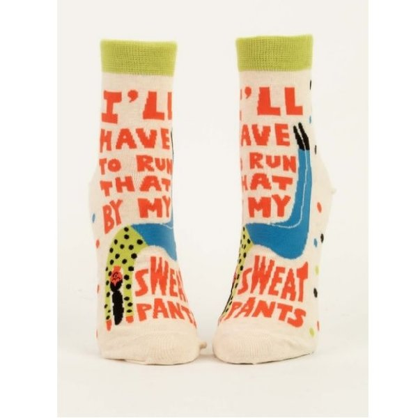 Run That By My Sweatpants Women's Ankle Socks