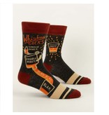 Blue Q Whiskey Socks Men's