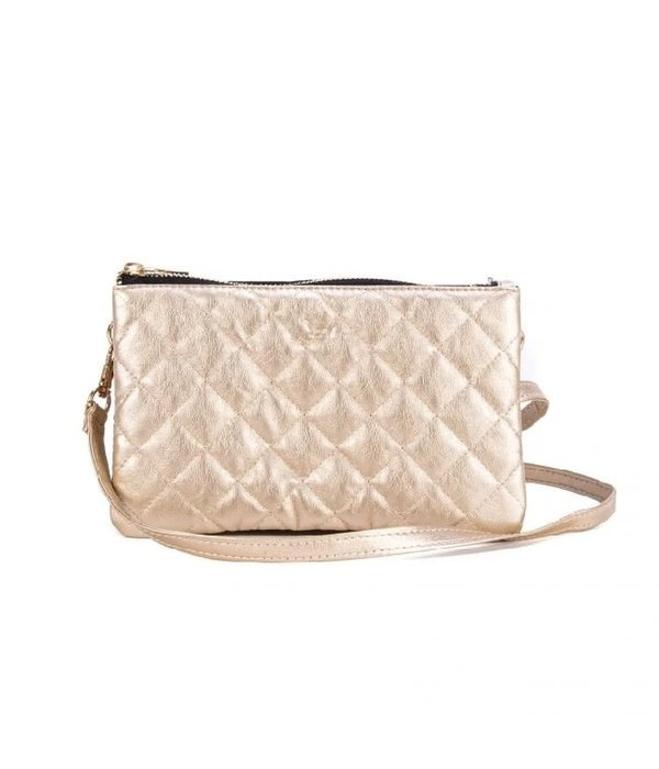 Scout Bags Carson Crossbody Quilted Gold