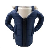 Puffin Coolers Parka Koozie Blue