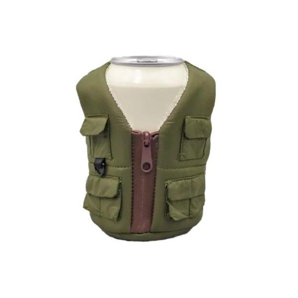 Adventure Vest Koozie Ranger Green