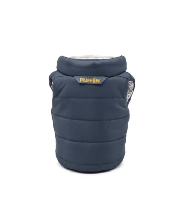 Puffin Coolers Vest Koozie Blue