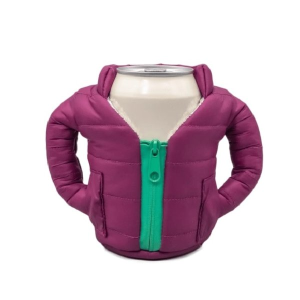 Koozie Jacket Plum
